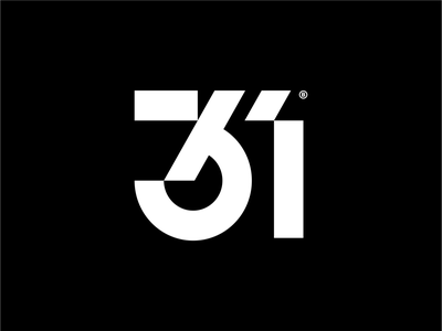 [ WIP ] - 31 print design numeral white black brandits branding geomatric minimal logo number