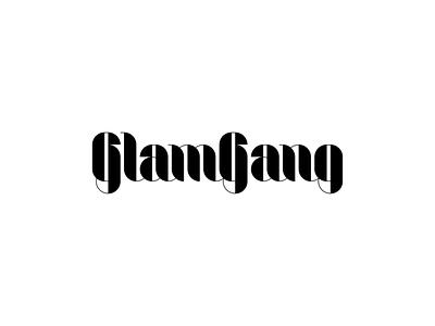 [ WIP ] - GlamGang blink brandits branding logo girls women brand fashion wear clothing gang glamour