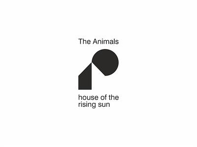[ RIP ] House of the rising sun music brandits geometry branding logo memory minimal animal sun rise house