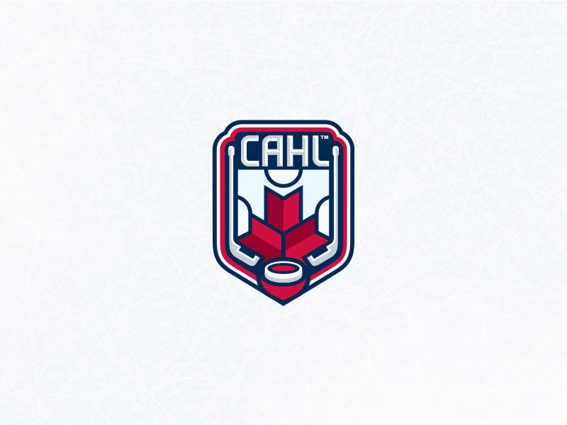 Canadian Amateur Hockey League By B Andits On Dribbble