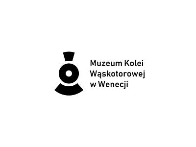 Narrow Gauge Railway Museum in Wenecja brandits track minimal branding logo locomotive train railway museum