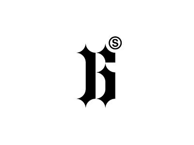 Play With Type - Letter B mark symbol black brandits branding logo minimal letter monogram type play
