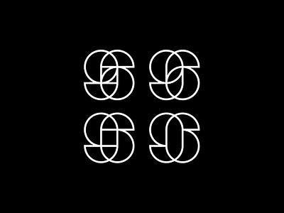 Play With Shapes - 96 circle brandits branding logo minimal line number geometric shape play