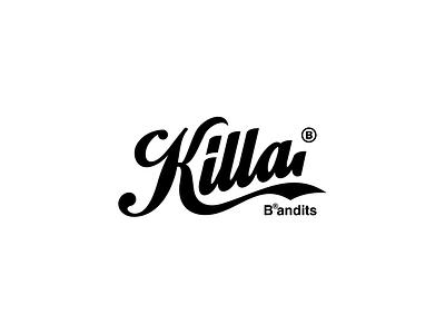 Play With Type - Killa bandit handwrite brandits branding logo typography kill type play