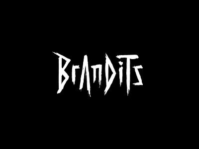 Play With Type - Brandits vector minimal brandits branding logo horror paint typography type play