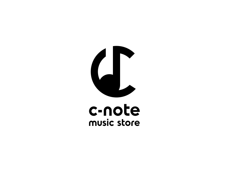 C - Note Music Store by B®andits on Dribbble