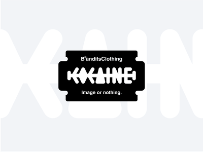 Play With type - Cocaine 2 white typography typecase type powder play logo drug cocaine brandits branfing addict