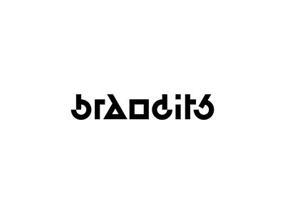 Play With Type - Geometric Brandits brandits branding logo geometric vector typeface typography type play