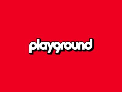 [ WIP ] Playground branding logotype logo typecase typography type girl boy children kids playground play