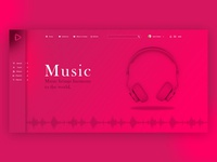 Online Music Streaming web application