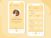 Restaurant Booking Mobile App