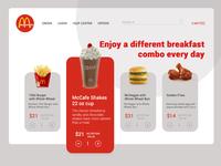 McDonald website . Another look