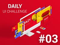 Landing Page  #DailyUI 03