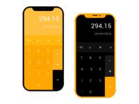 Calculator  #DailyUI 04