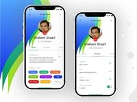 #DailyUI06   User Profile