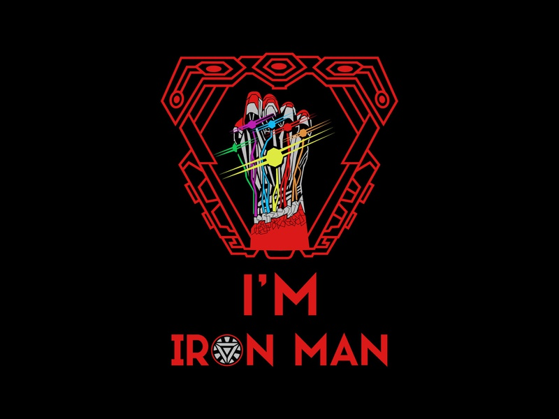 I'm Iron Man by Tech Tree on Dribbble