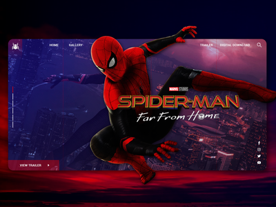 Spider Man Far From Home Ui