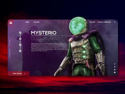 Mysterio Ui Design