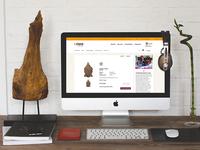 claro frair trade webshop redesign