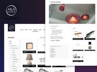 Web Rebranding - Shop Aka Leuchten