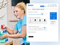 Ipaster - Booking form