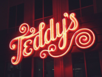 Teddy's Nacho Royale Signage