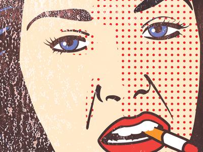 Poster Detail pop art poster