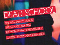 Dead School Poster