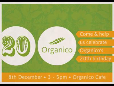 Organico Birthday Invitation