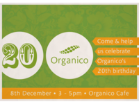 Organico Birthday Invitation
