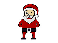 Chistmas Icon santa clause