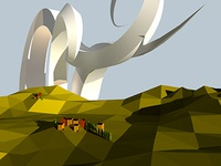 Low Poly Tuscany