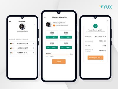 UX-UI Design of a voice over IP mobile app ghana nigeria design telecom yux africa ux