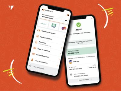 Orange Money UX-UI Design
