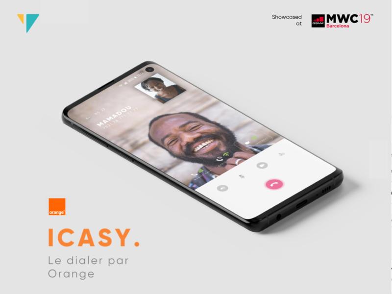 Orange Labs ICASY UX-UI Design mwc2019 ui design ux designer ux design userinterface user experience whatsapp dialer call chat ui design senegal uidesign orange telecom ux-ui africa yux ux