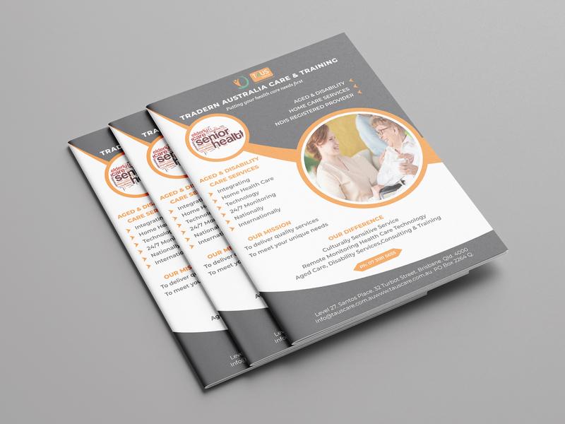 Madical Flyer Design clean icon identity typography illustrator brand minimal logo animation guard design website vector modern logo design logo design illustration branding graphic design brochure flyer