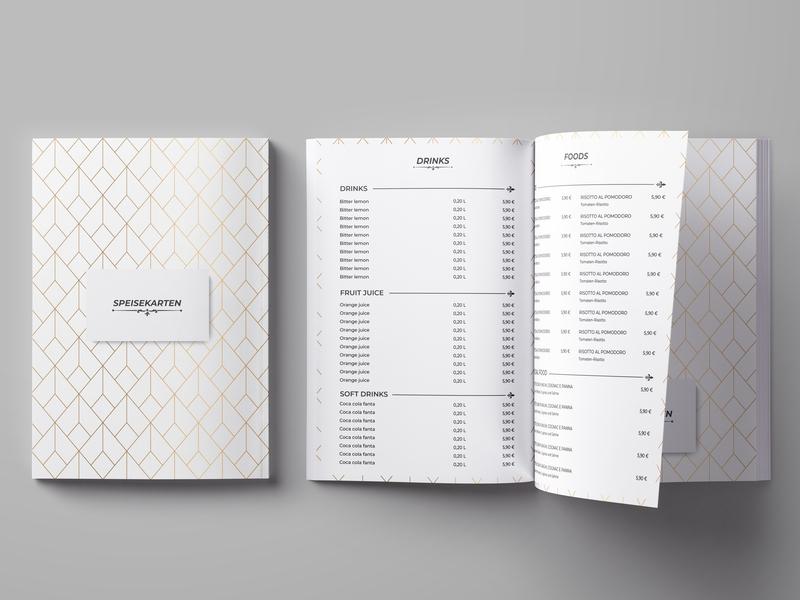 DEFAULT MENU DESIGN web clean identity icon typography brand illustrator minimal animation guard design website vector modern logo design logo design illustration branding graphic design a4 brochure menu