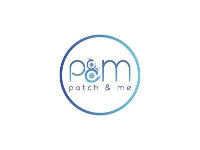 P&M logo lettering web clean identity icon typography brand logo illustrator minimal animation guard design website vector modern logo design logo design illustration branding graphic design
