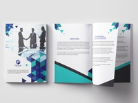 6 pages Company Profile design