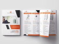 12 pages catalog Design