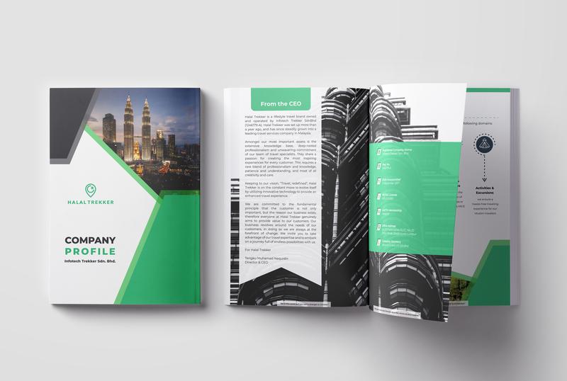 8 Page Company Profile by Mostafizur Rahman on Dribbble