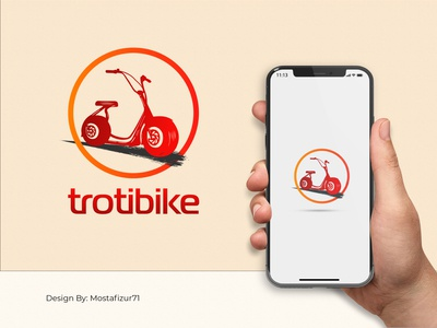 Logo design Trotibike