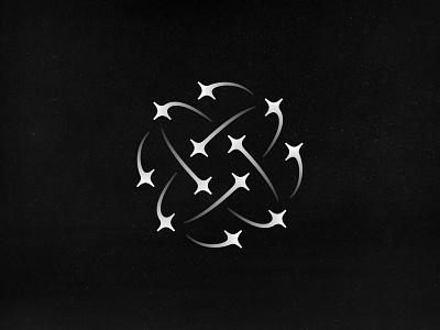 EUSPA Logo Contest Proposal rejected logo rejected contest stars logo design logodesign logo euspa eu space european union orbit globe satellite shooting star flare star branding