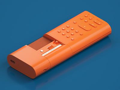 Olivetti Divisumma 18 productdesign calculator product retro design illustration 3dart 3dmodelling 3drender modelling render c4d cinema4d