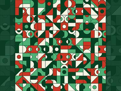 Geometry Pattern N02 artwork teepublic redbubble society6 colorful pattern geometric design illustration art
