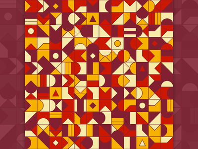Geometry Pattern N03 totebag tshirt teepublic society6 redbubble artwork colorful geometric pattern art illustration design