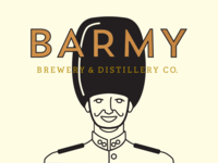 Barmy Brewery & Distillery Co. Packaging