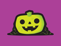 Spooky Pumpkin for Halloween