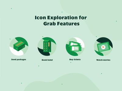 Grab Features - Icon Exploration