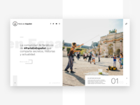 Art direction and website for Paris en Español
